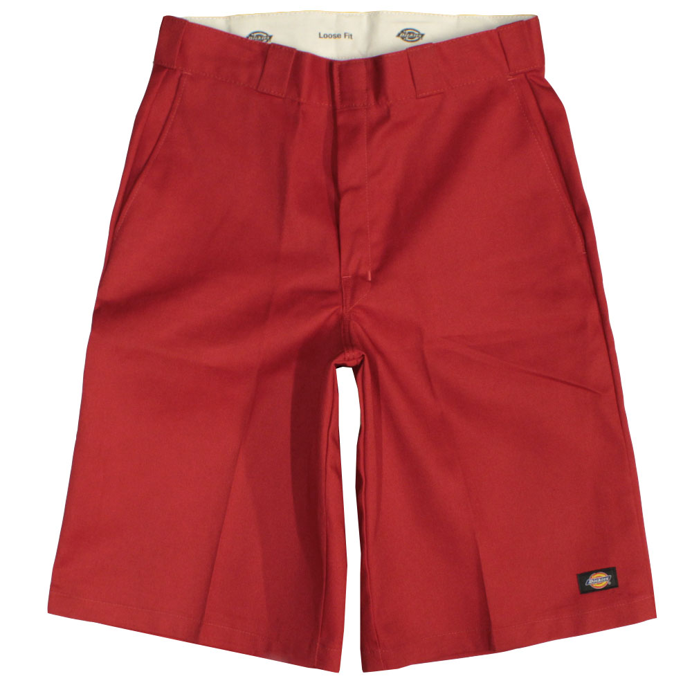 Dickies 13 inch Multi Pocket Work Shorts Red
