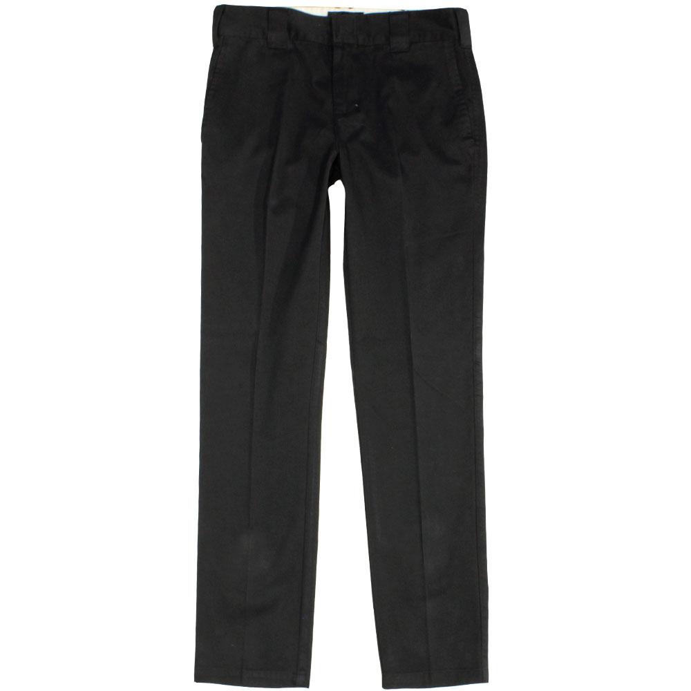 Dickies C182 Slim Fit Chino Trousers Black