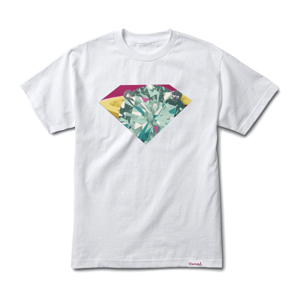 Diamond Supply Co Union T-shirt White