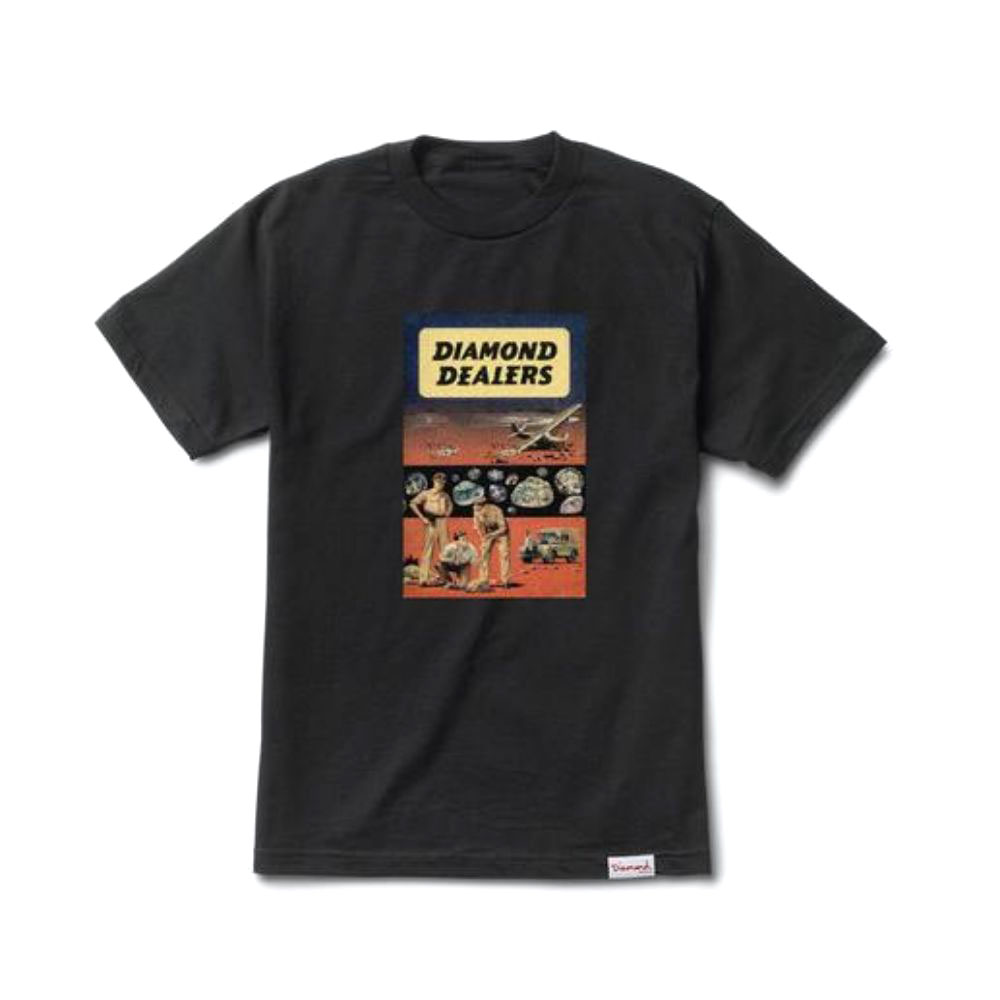 Diamond Supply Co Dealers T-shirt Black