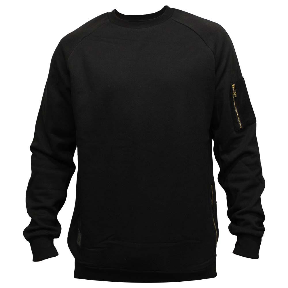 Crooks & Castles Ransack Sweatshirt Black
