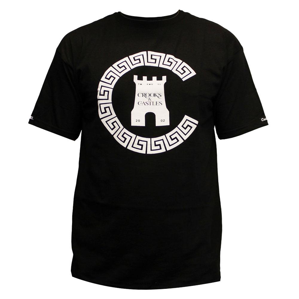 Crooks & Castles Greco Chain C T-shirt Black