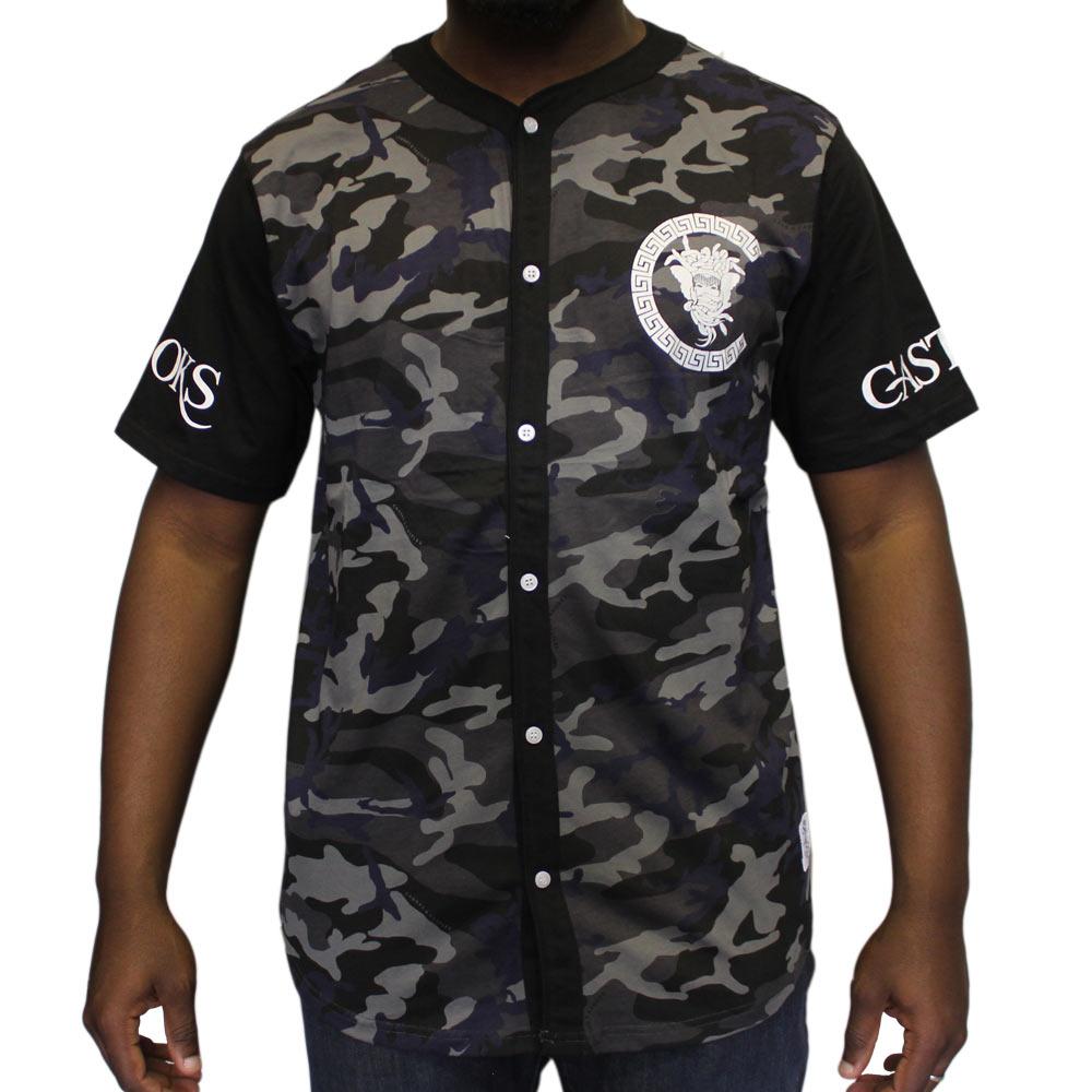 Crooks & Castles Slugger baseball Jersey Black