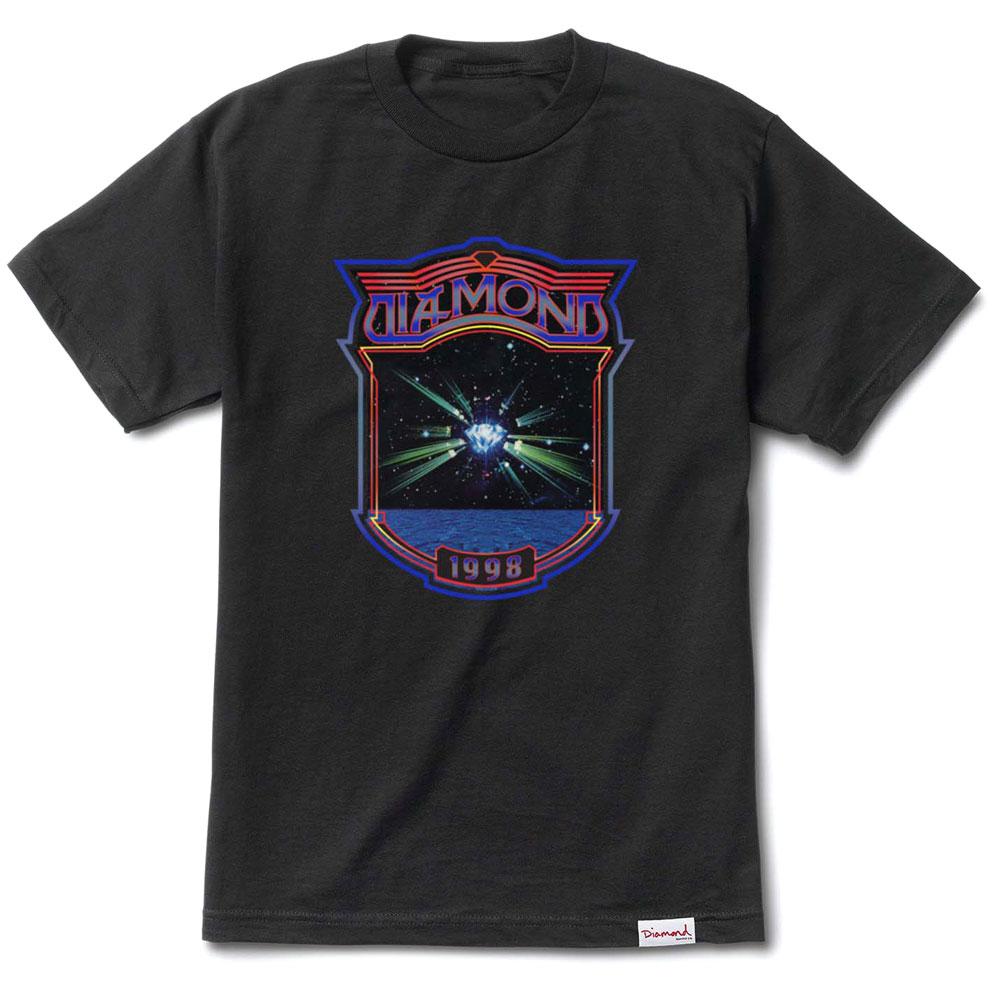 Diamond Supply Co Odyssey T-shirt Black