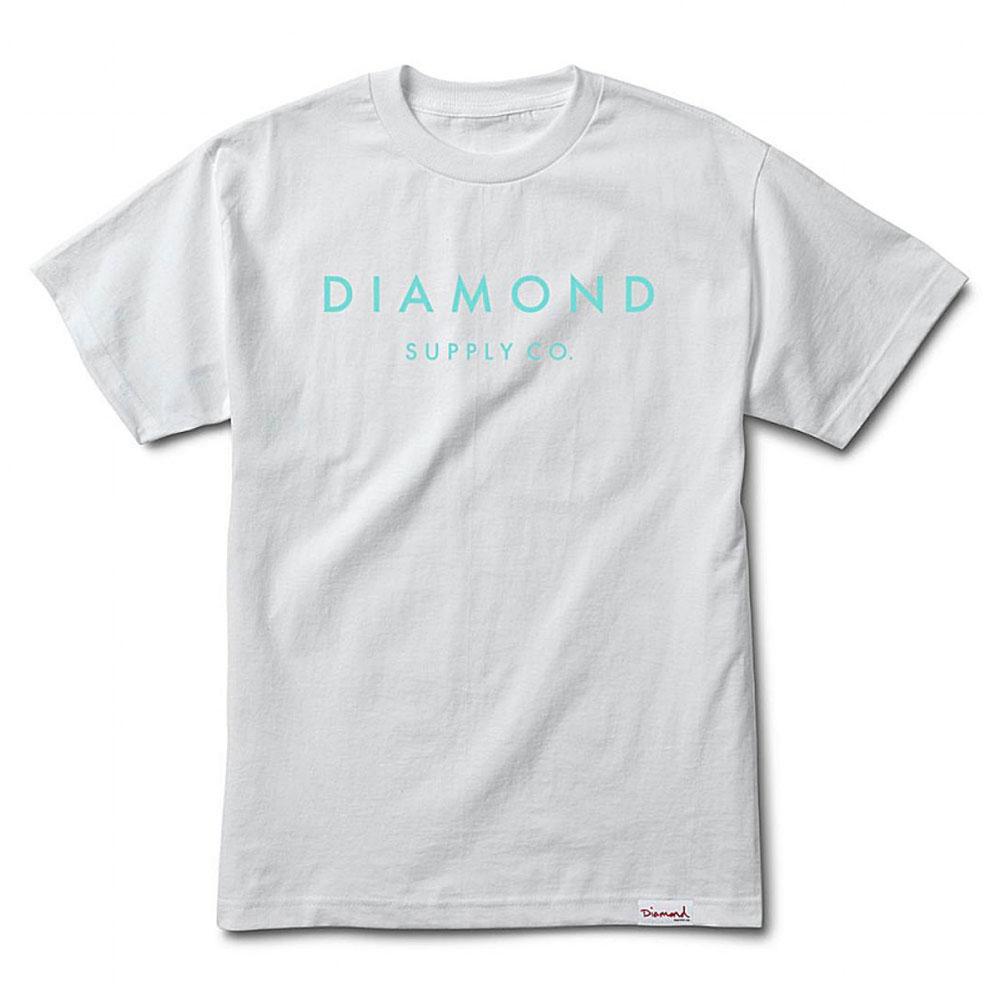 Diamond Supply Co Stone Cut T-shirt White