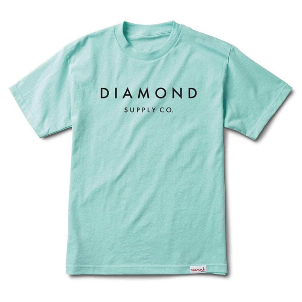 Diamond Supply Co Stone Cut T-shirt Diamond Blue