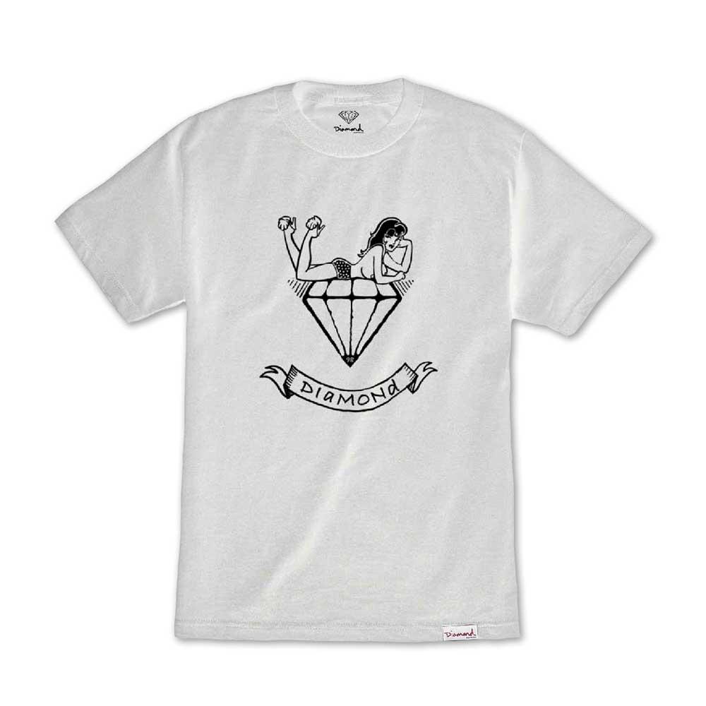 Diamond Supply Co Mistress T-shirt White