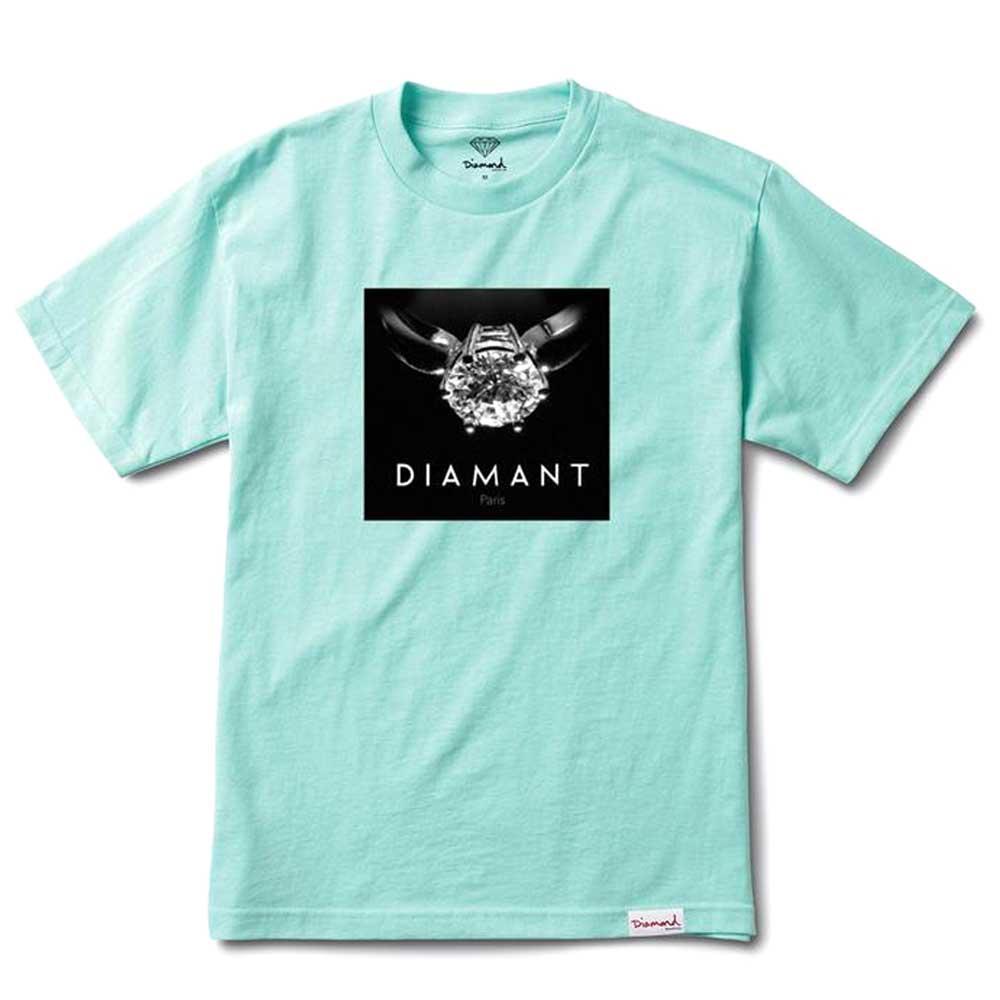 Diamond Supply Co Diamant Paris T-shirt Diamond Blue