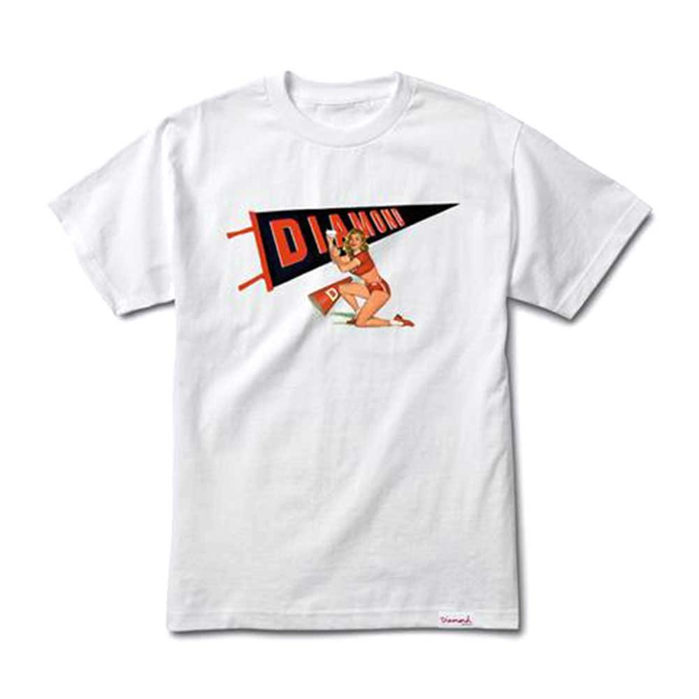 Diamond Supply Co Cheers T-shirt White