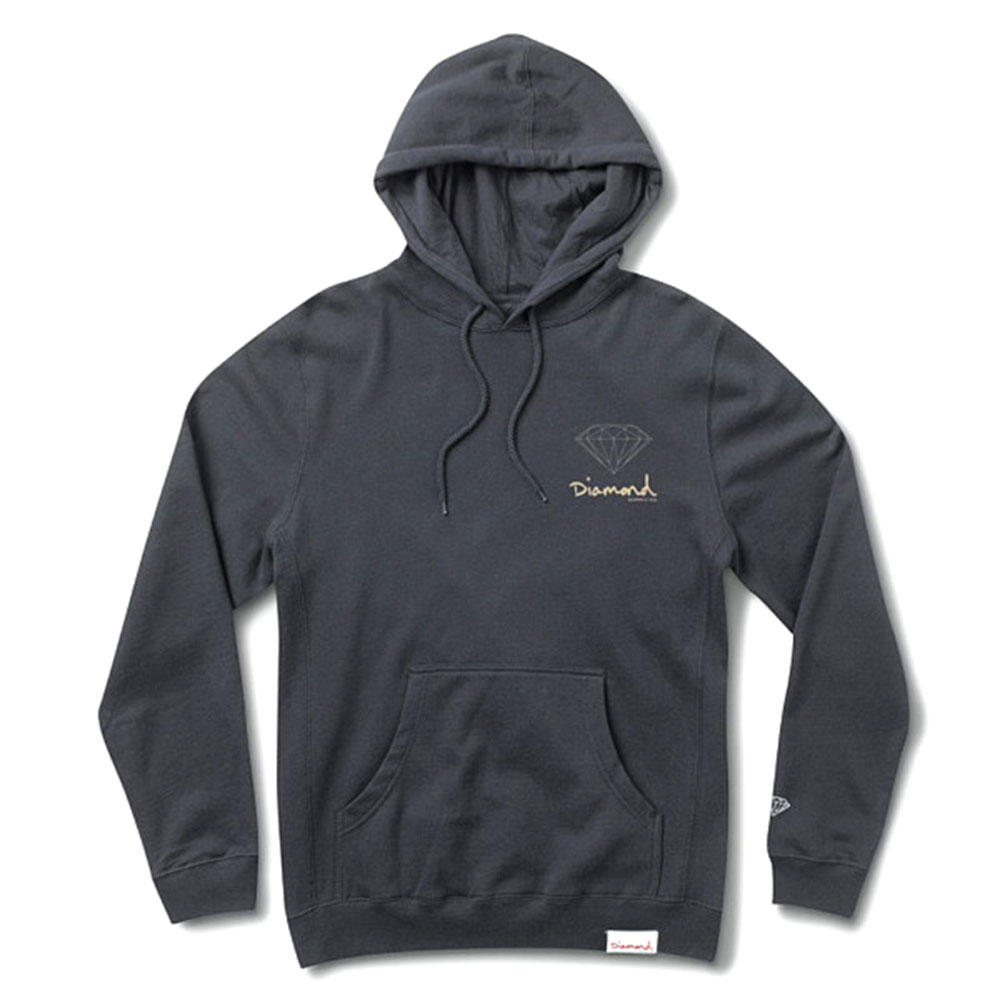 Diamond Supply Co OG Sign Hoodie Navy