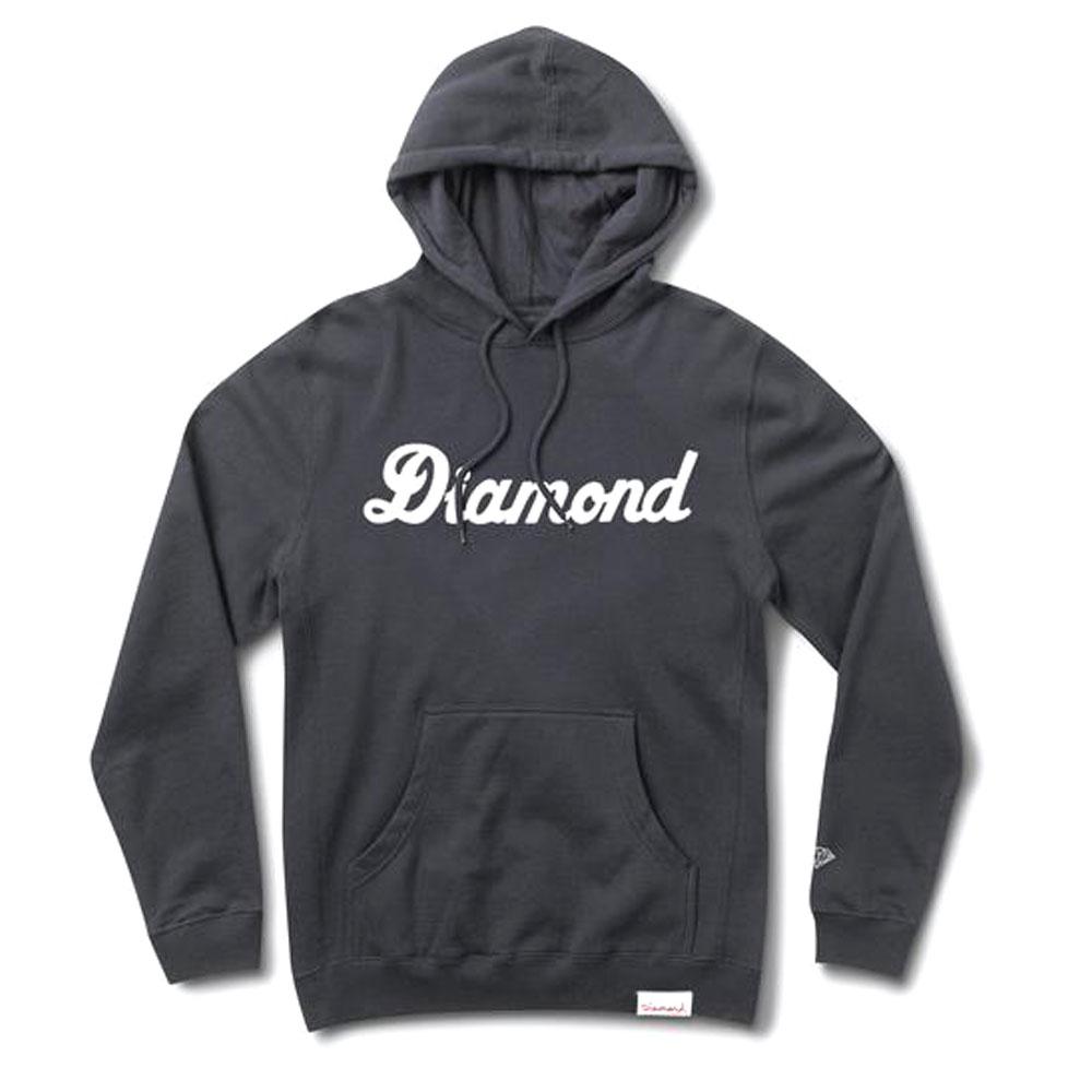 Diamond Supply Co City Script Pullover Hoodie Navy
