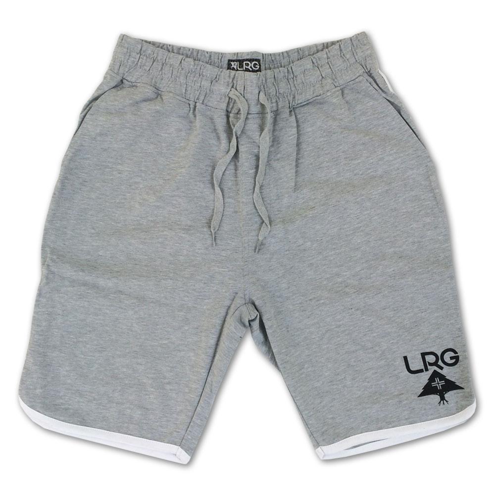 Lrg RC Jersey Scallop Sweat Shorts Ash Heather