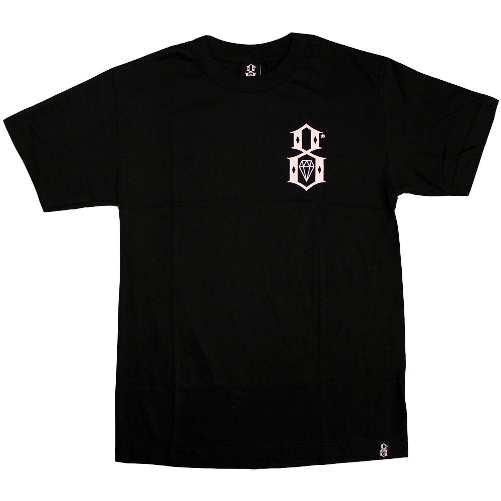 Rebel8 Chest Logo T-shirt black