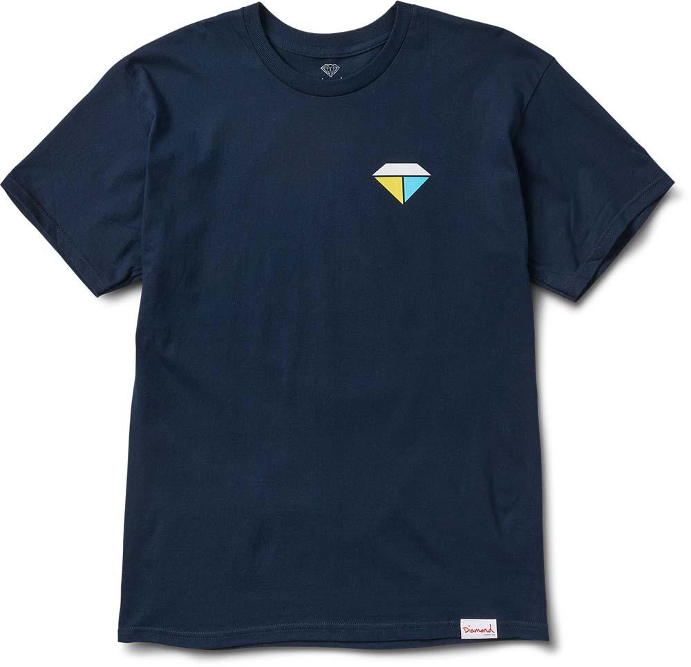 Diamond Supply Co Bolts And Boats S/S T-shirt Navy