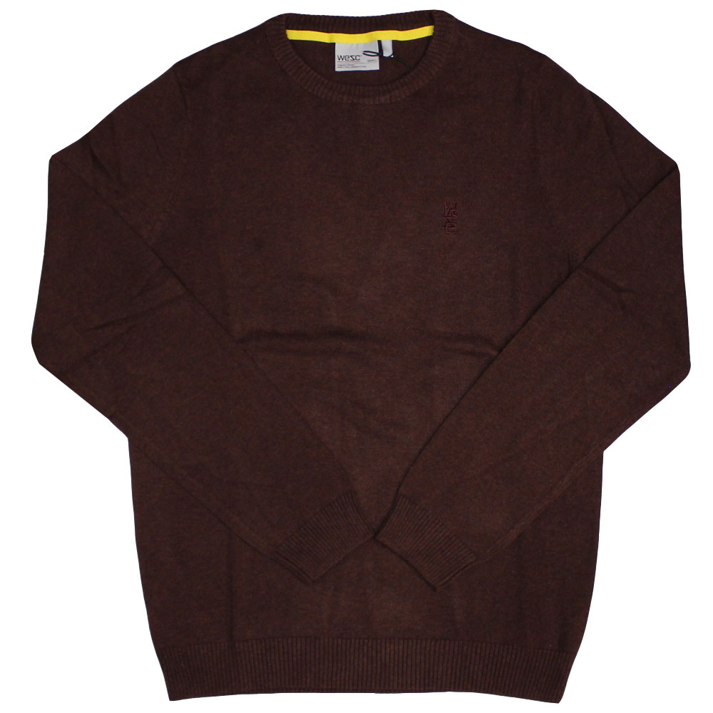 WeSC Anwar knitted Sweater Andorra Red