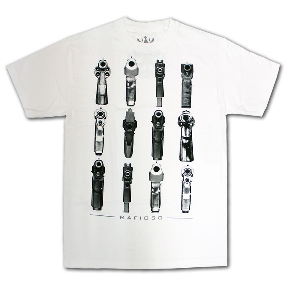 Mafioso Barrels T-Shirt White