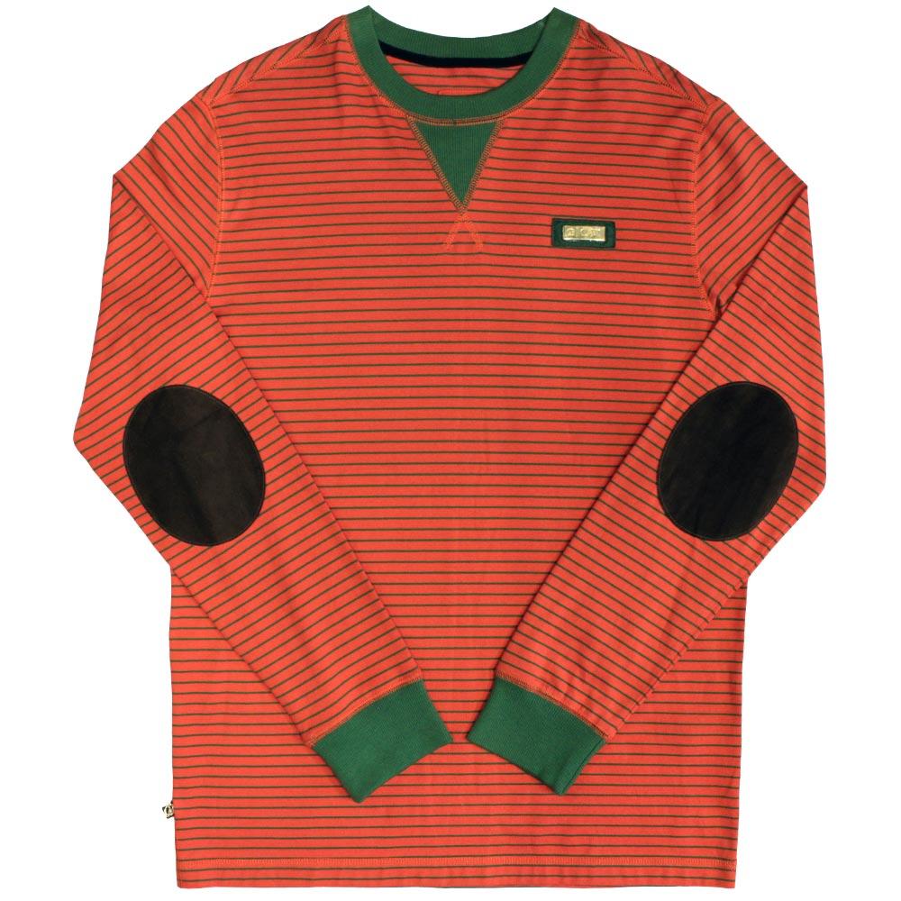 Cavi Bass Long Sleeve T-Shirt Red Green
