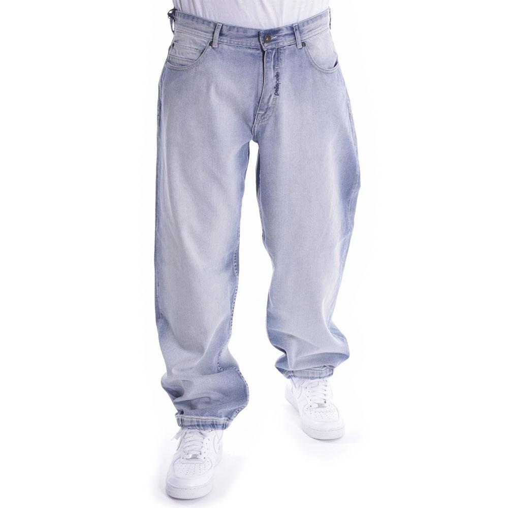 Pelle Pelle Baxter X-Baggy Denim Jeans White Wash
