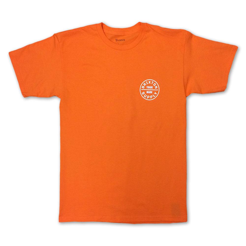 Brixton Oath T-Shirt Orange