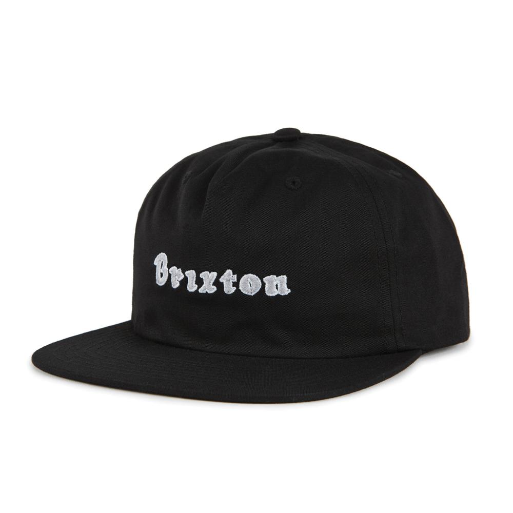 Brixton Proxy II MP Snapback Cap Black