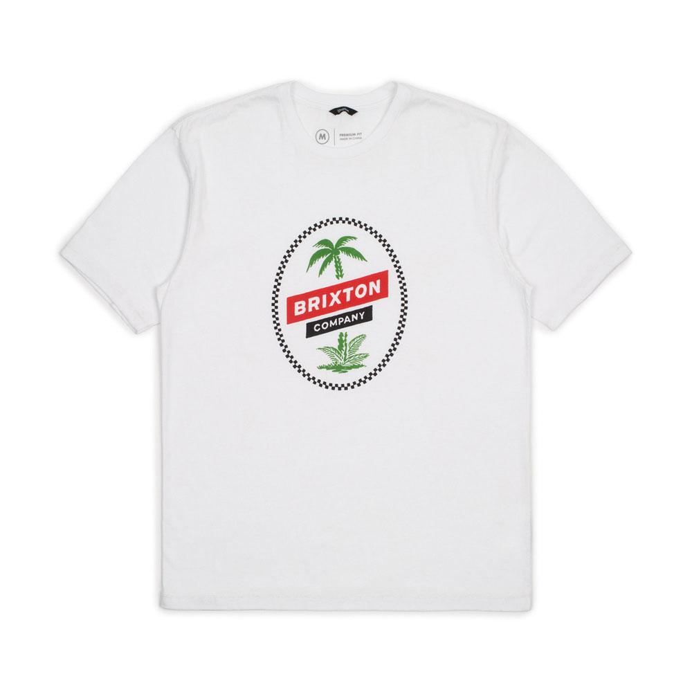 Brixton Tosh Premium T-Shirt White
