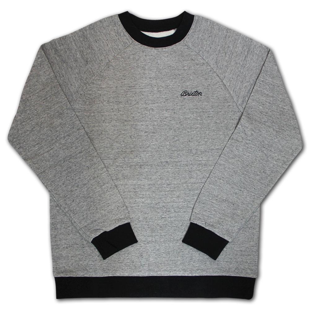 Brixton Trevor Sweatshirt Grey Black