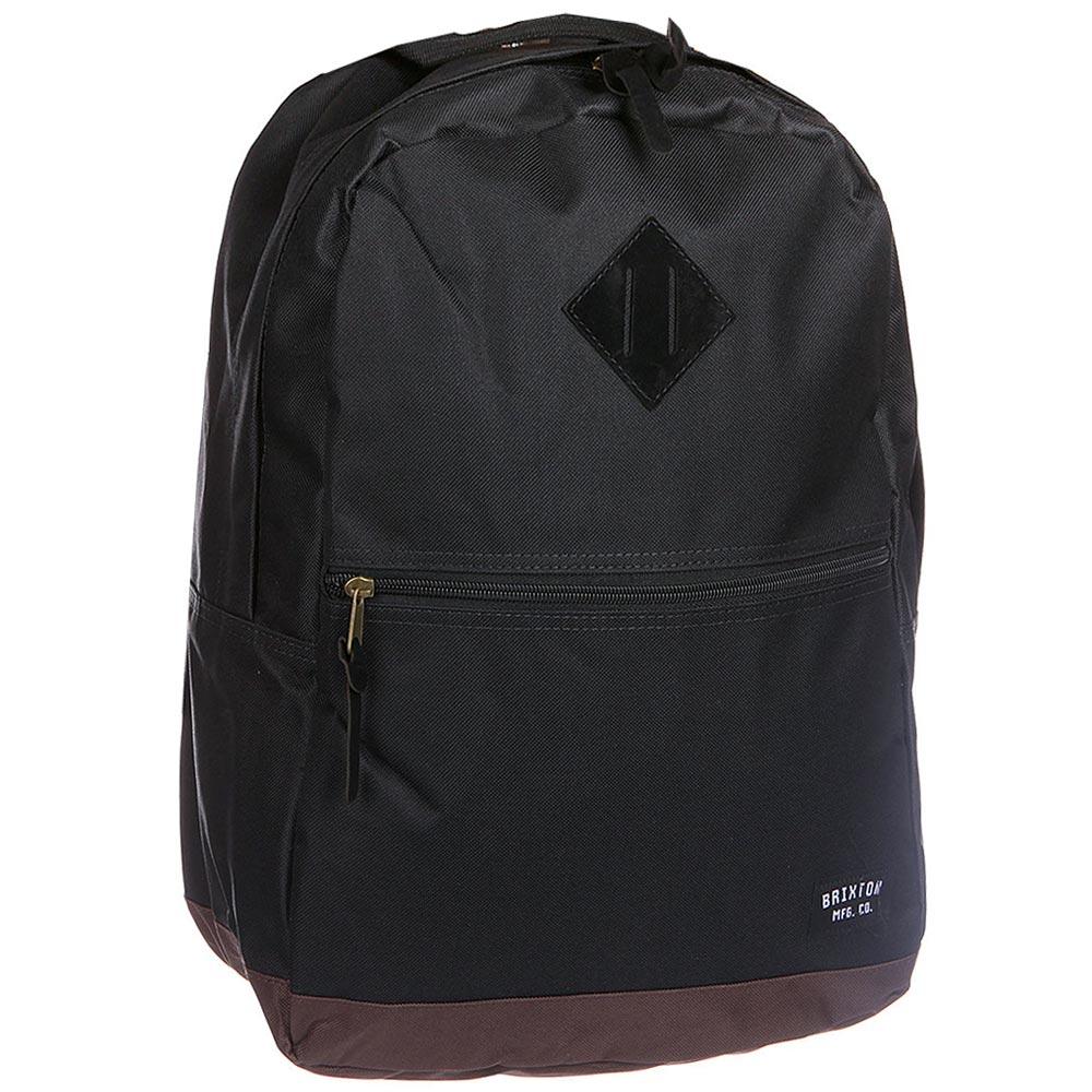 Brixton Carson Backpack Black Brown