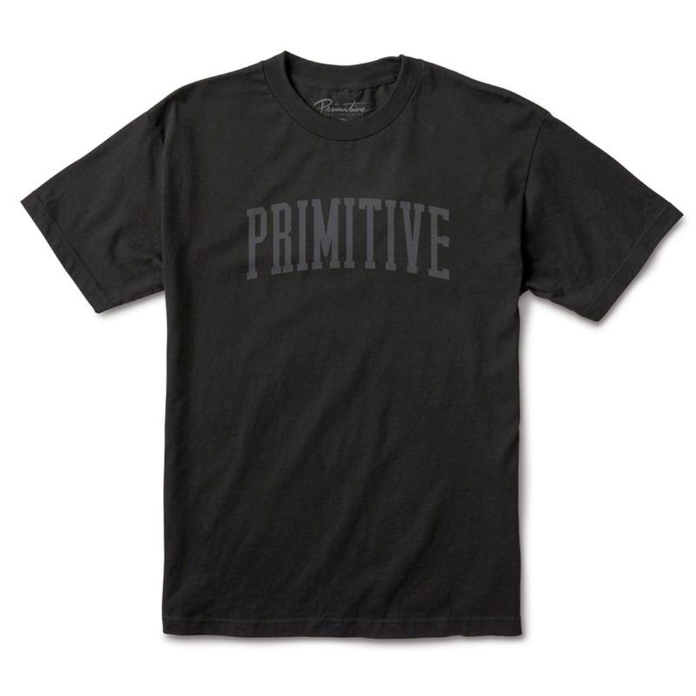 Primitive Apparel Collegiate Arch T-Shirt Black