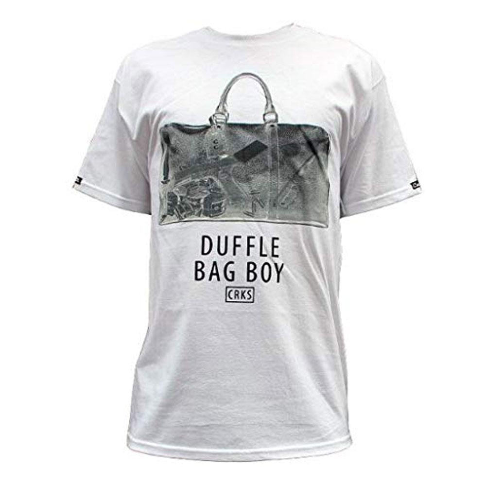 Crooks & Castles Duffle Bag T-Shirt White