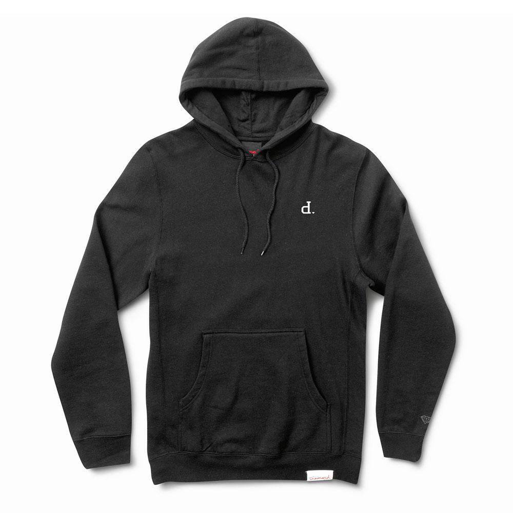 Diamond Supply Co Mini Un Polo Pullover Hoodie Black