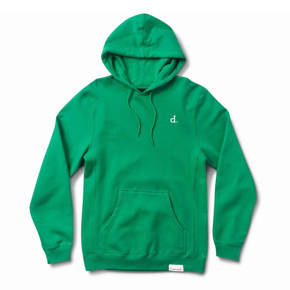 Diamond Supply Co Mini Un Polo Pullover Hoodie Green
