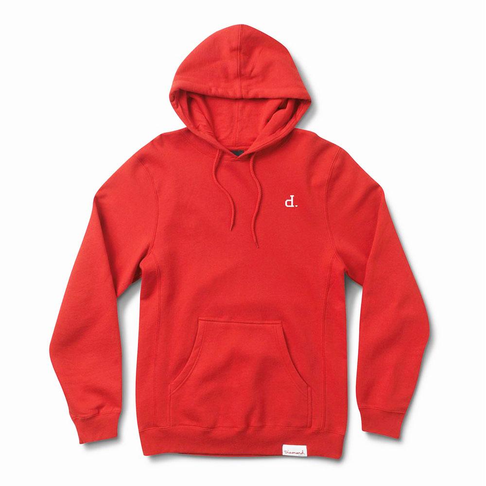 Diamond Supply Co Mini Un Polo Pullover Hoodie Red