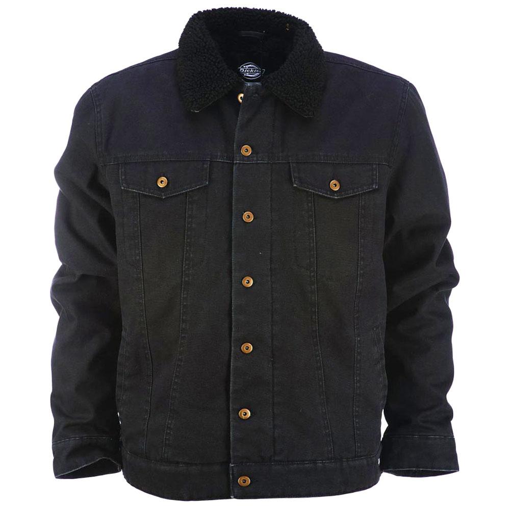 Dickies Glenside Fleece Lined Jacket Black