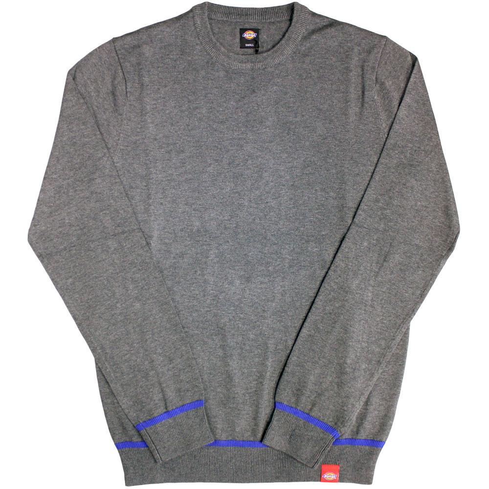 Dickes Auburn Knit Sweater Dark Grey Melange