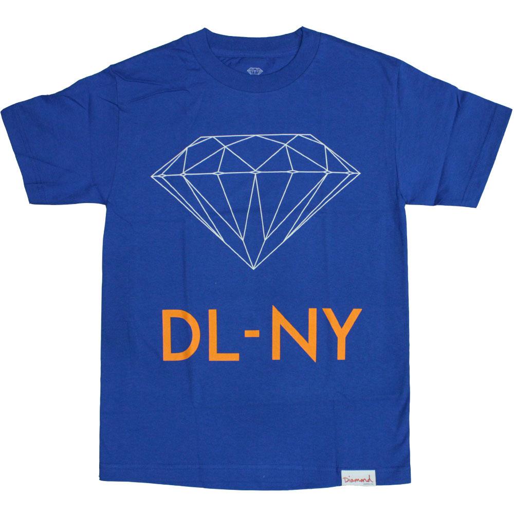 Diamond Supply Co DL-NY T-Shirt Royal