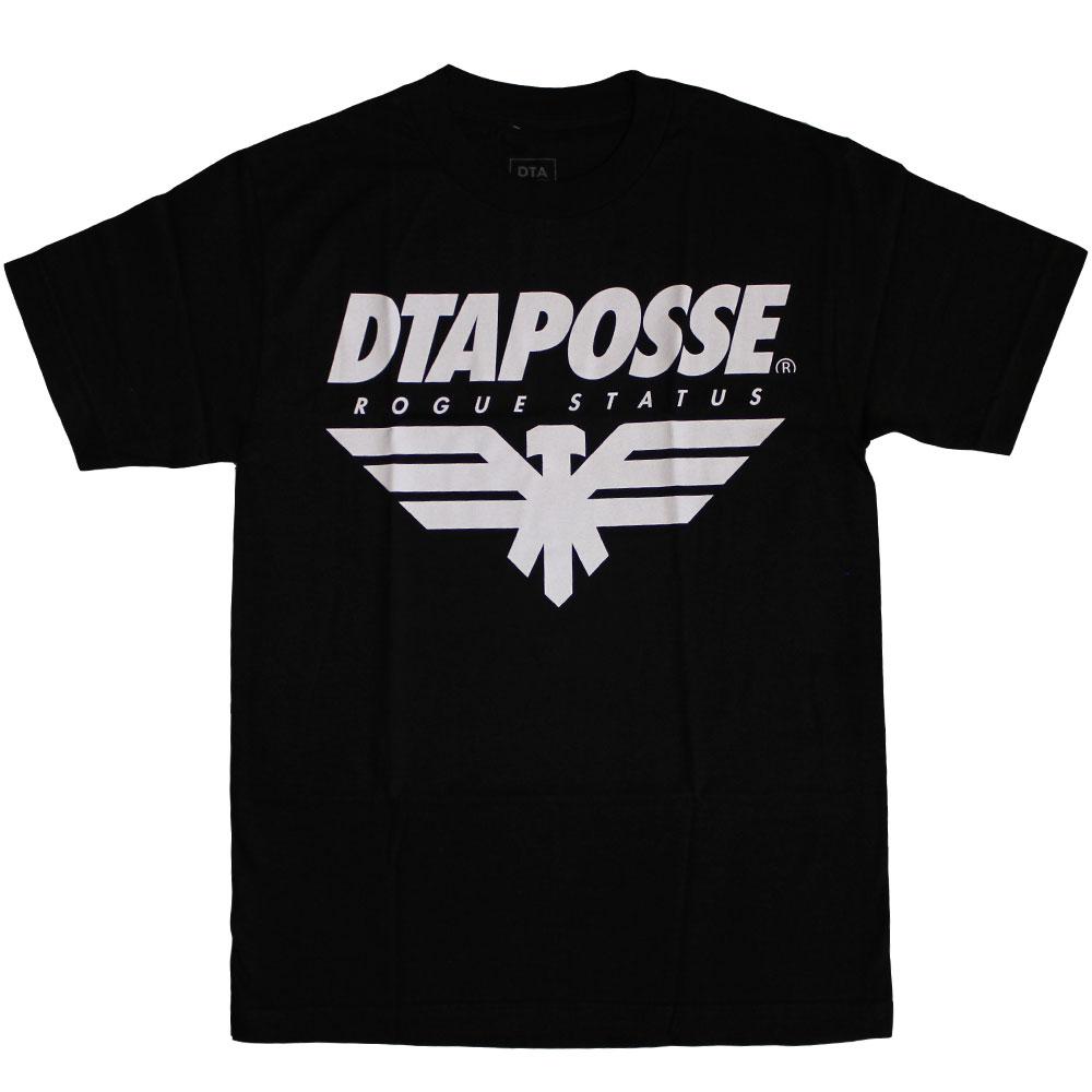 DTA RS Eagleline T-Shirt Black White
