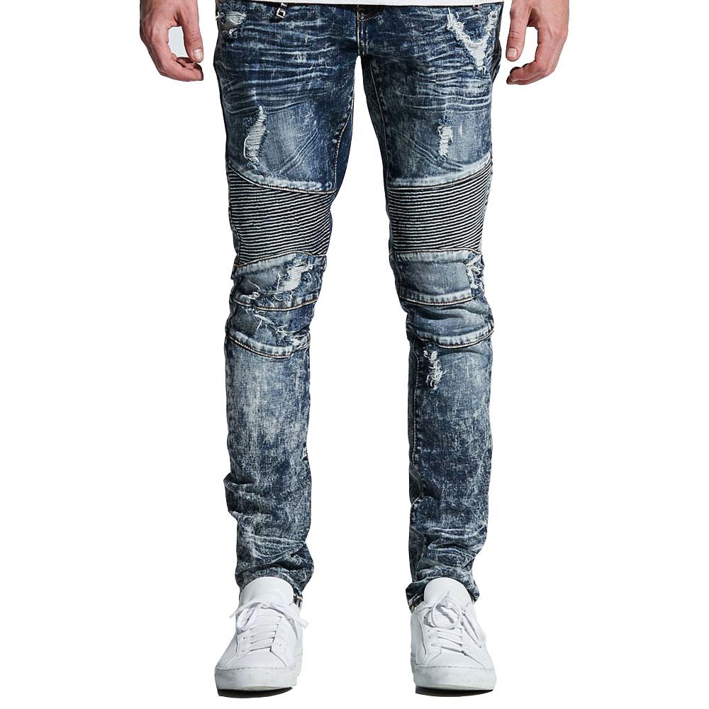 Embellish NYC Tanner Biker Denim Jeans