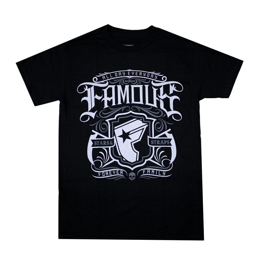Famous Stars and Straps Everyday T-shirt Black