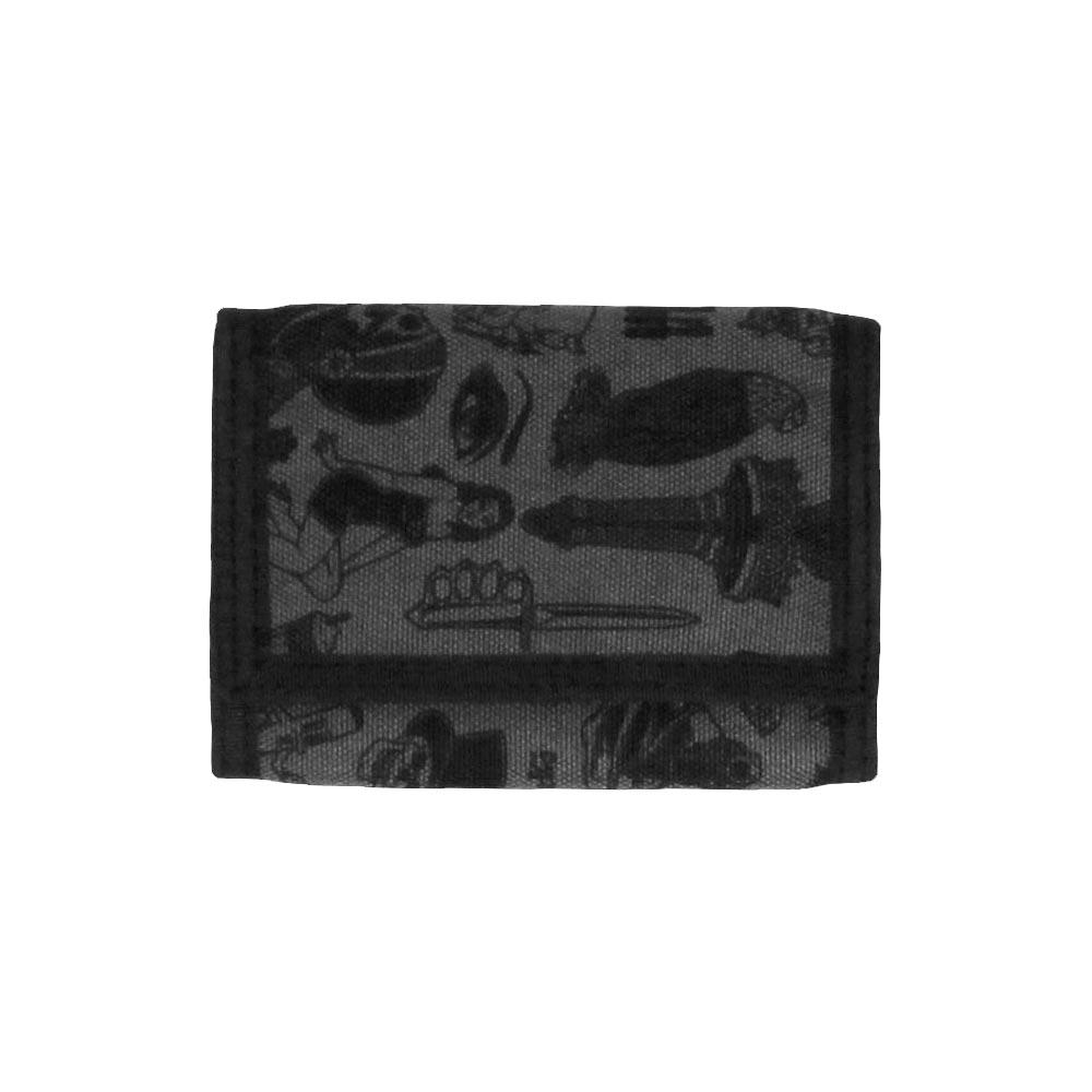 Rebel8 Giant Flash Wallet Black