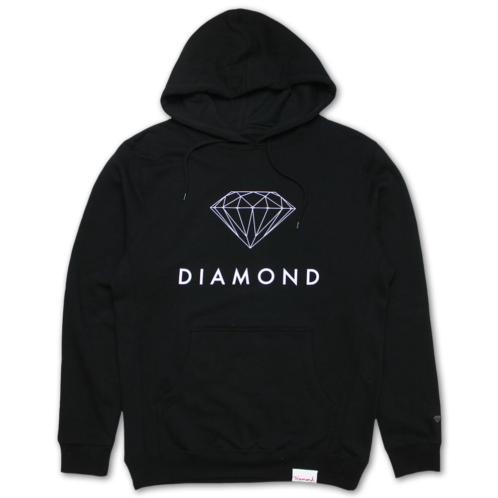 Diamond Supply Co Futura Sign Hoodie Black