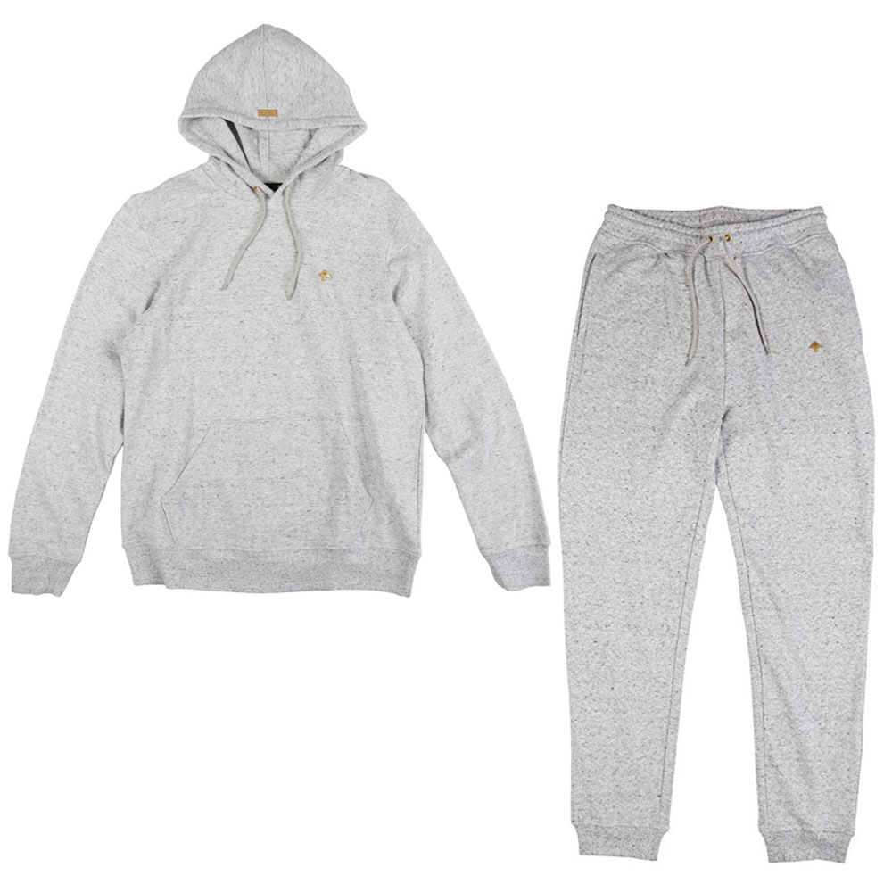 LRG Nothing But Gold Tracksuit Ash Heather