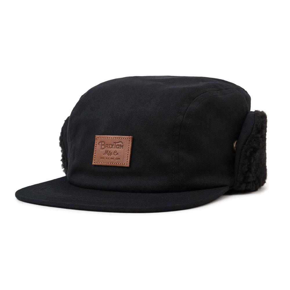 Brixton Grade II Ear Flap Cap Black