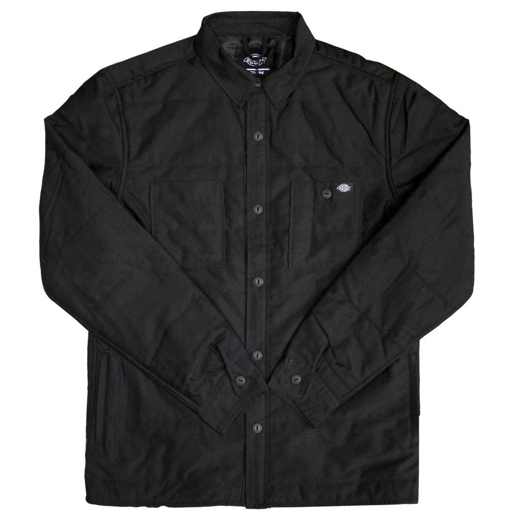 Dickies Greendale Long Sleeve Over Shirt Black