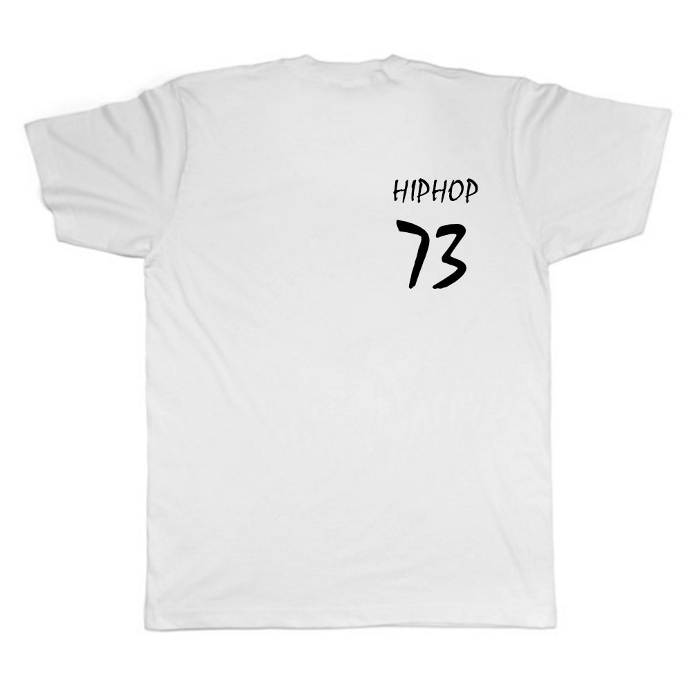 HIPHOP73 Dope Chest T-Shirt White