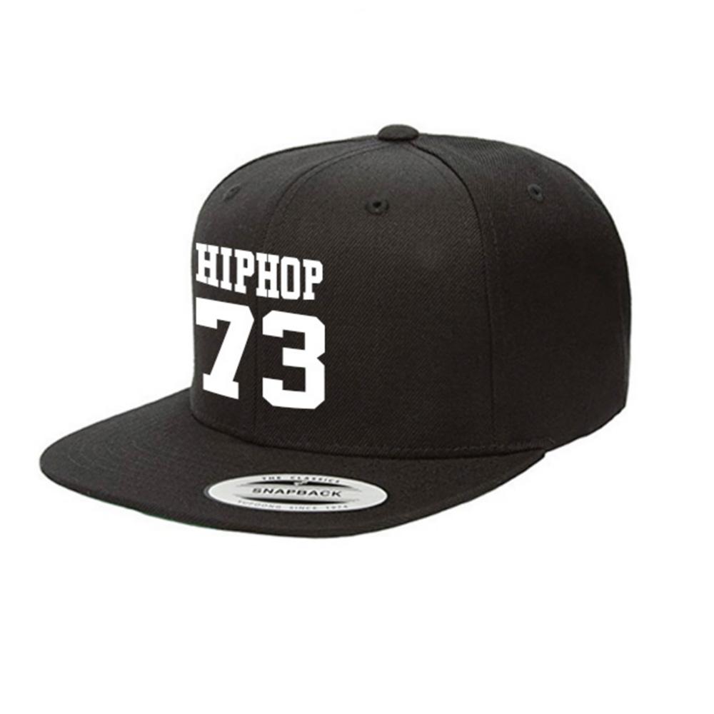HIPHOP73 Snapback Black