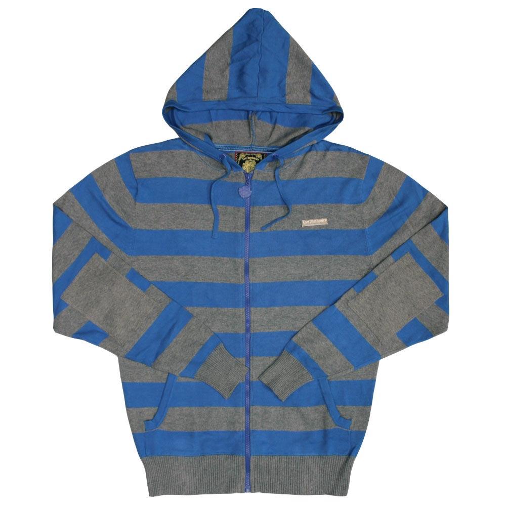 Live Mechanics Hype Stripe Hoodie Strong Blue