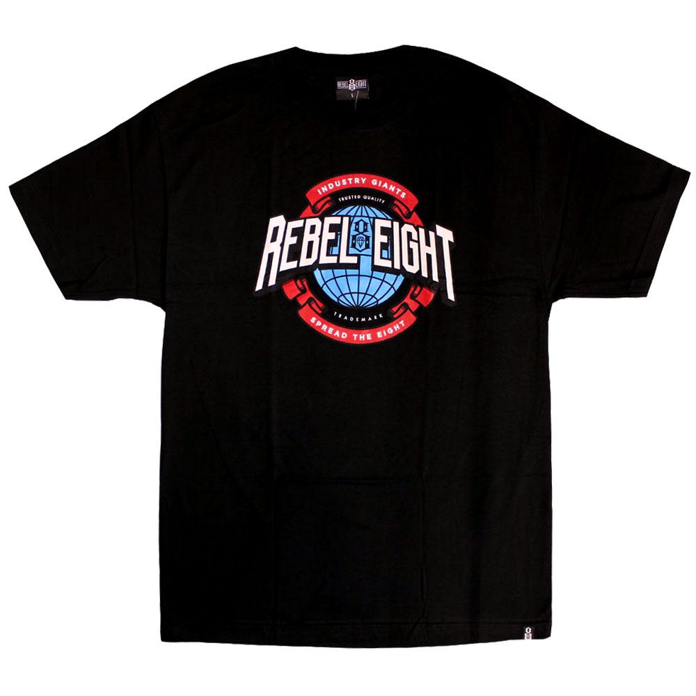 Rebel8 Industry Giant T-Shirt Black