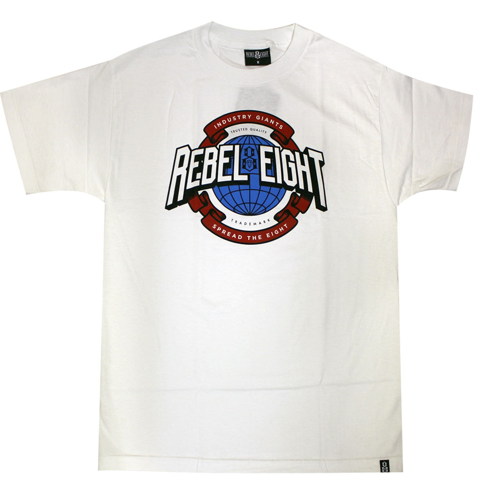 Rebel8 Industry Giant T-Shirt White