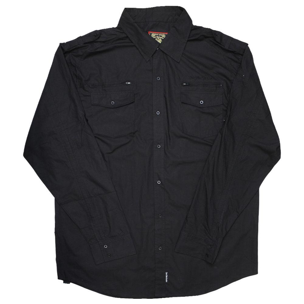 Live Mechanics Well Established Shirt Black