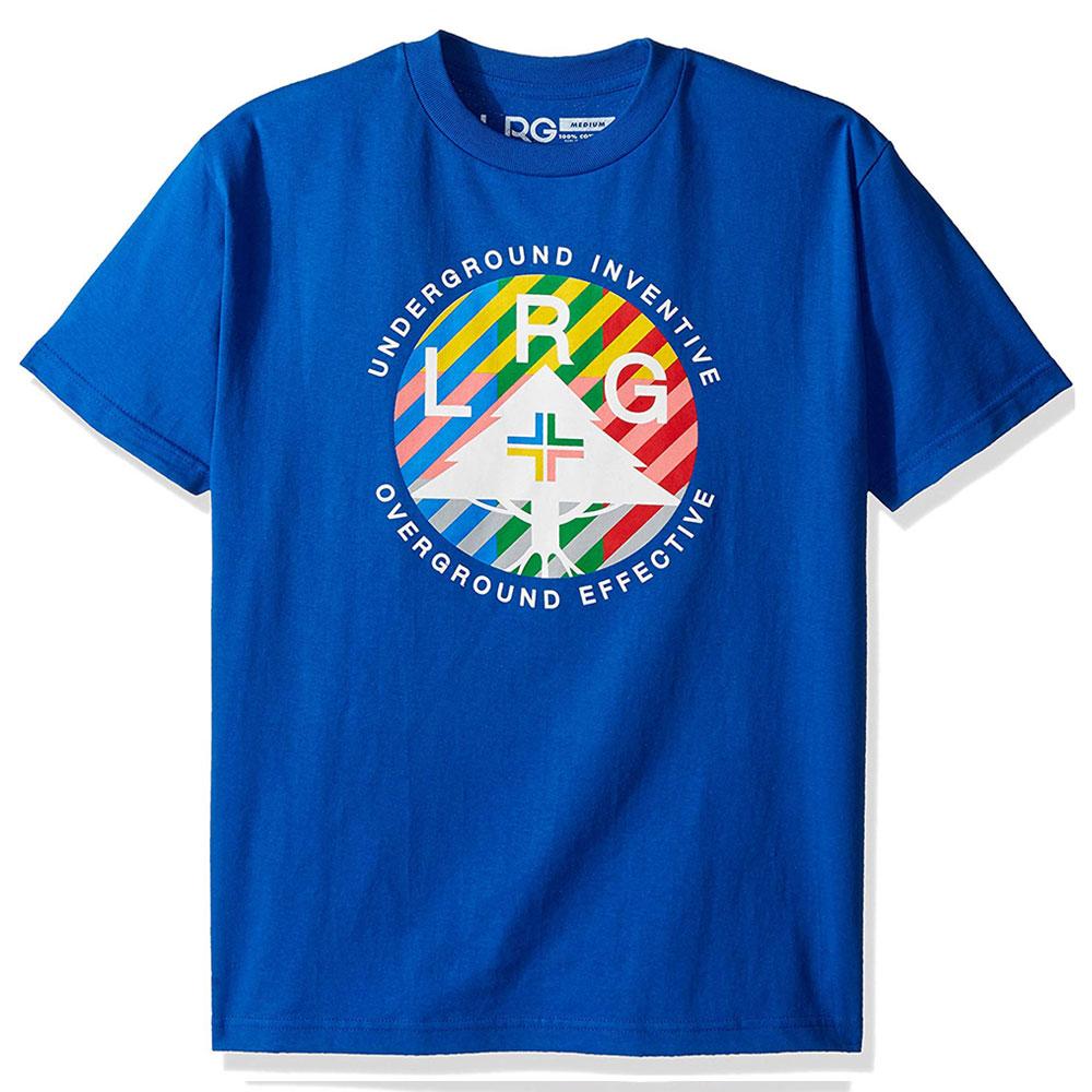 LRG Colors United T-shirt Royal